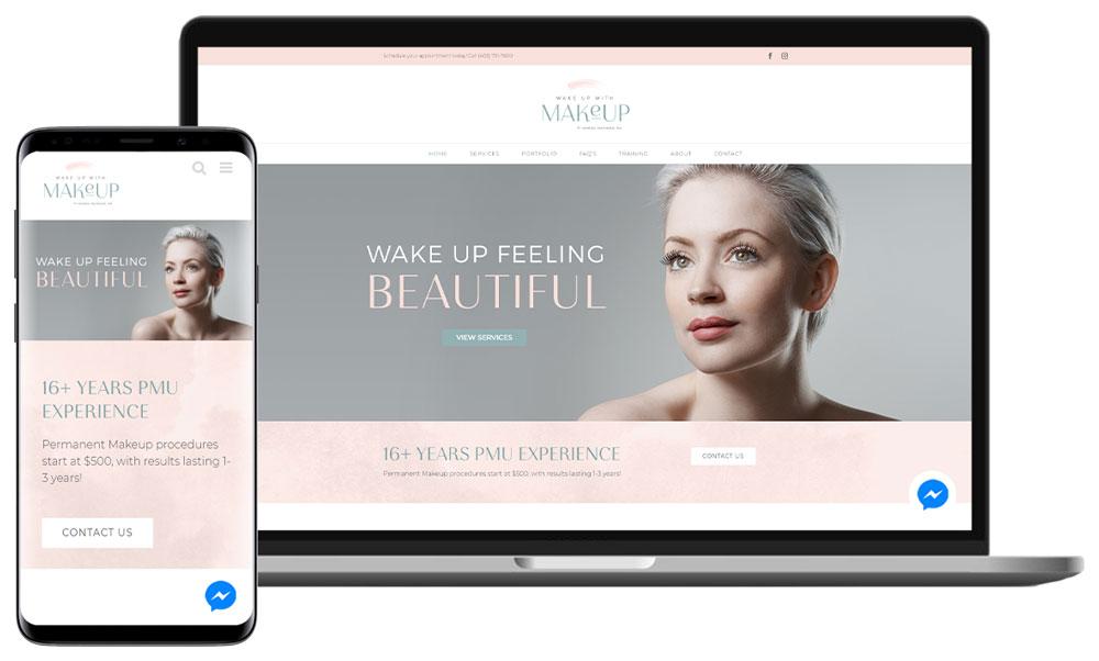 Web Design For Permanent Cosmetics